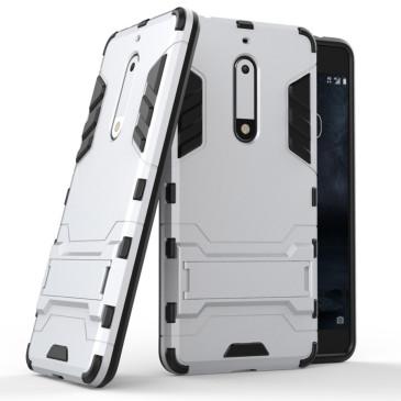 Nokia 5 Suojakuori 2-osainen Hopea