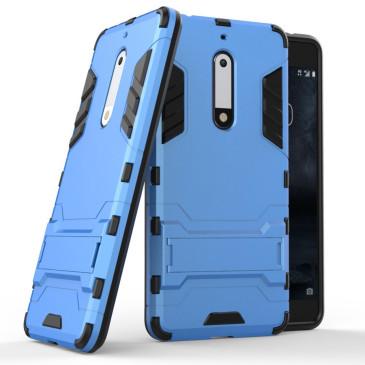 Nokia 5 Suojakuori 2-osainen Vaaleansininen