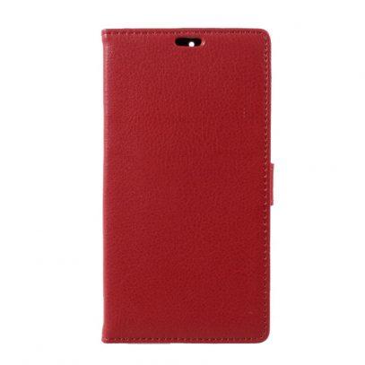 Nokia 6 Lompakko Suojakotelo Punainen