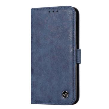 Nokia 6 Nahkakotelo Retro Sininen