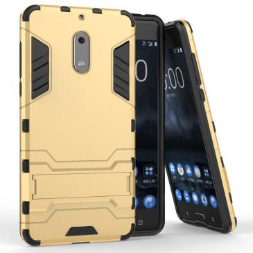 Nokia 6 Suojakuori 2-osainen Kulta