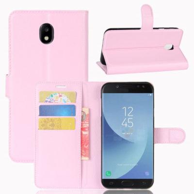 Samsung Galaxy J5 (2017) Kotelo Vaaleanpunainen