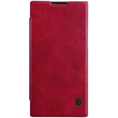 Sony Xperia L1 Kotelo Nillkin Qin Punainen
