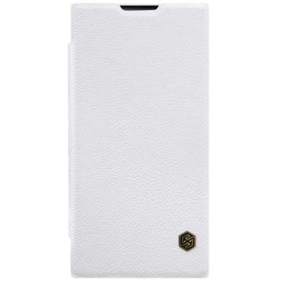 Sony Xperia L1 Kotelo Nillkin Qin Valkoinen
