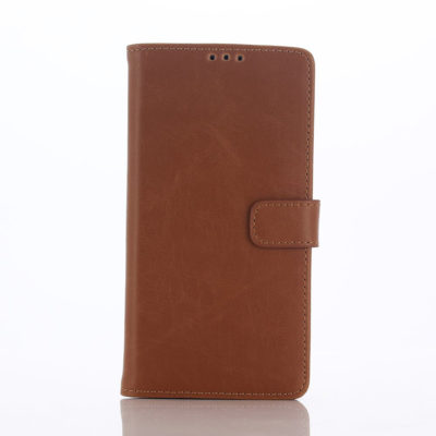 Sony Xperia L1 Lompakkokotelo Ruskea