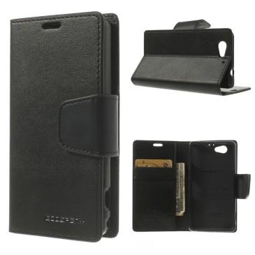 Sony Xperia Z1 Compact Kotelo Sonata Musta