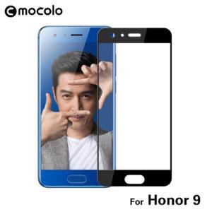 Huawei Honor 9 Täysin Peittävä Suojalasi Musta