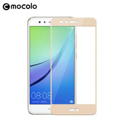 Huawei P10 Lite Täysin Peittävä Suojalasi Kulta