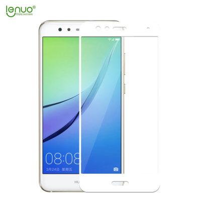 Huawei P10 Lite Täysin Peittävä Suojalasi Valkoinen