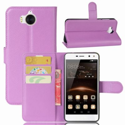 Huawei Y6 (2017) Lompakkokotelo Violetti