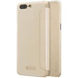 OnePlus 5 Kotelo Nillkin Sparkle Kulta