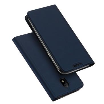 Samsung Galaxy J3 (2017) Kotelo Dux Ducis Tummansininen