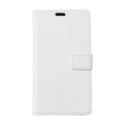 Samsung Galaxy J5 (2017) Nahkakotelo Valkoinen