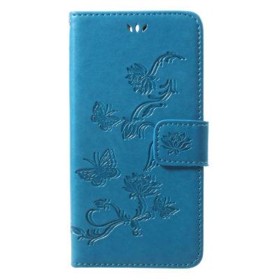 Huawei Honor 9 Suojakotelo Perhonen Sininen