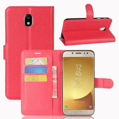 Samsung Galaxy J7 (2017) Suojakotelo Punainen