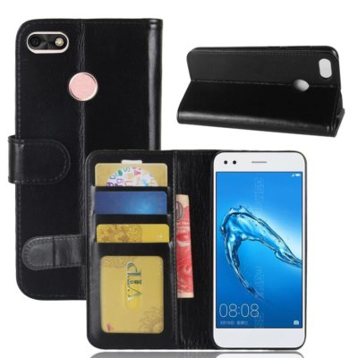 Huawei P9 Lite Mini Suojakotelo Musta