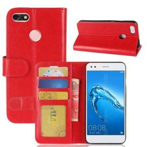 Huawei P9 Lite Mini Suojakotelo Punainen