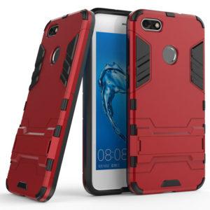 Huawei P9 Lite Mini Suojakuori 2-osainen Punainen