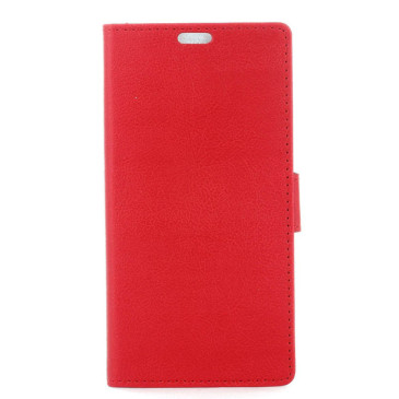 Nokia 8 Lompakko Suojakotelo Punainen