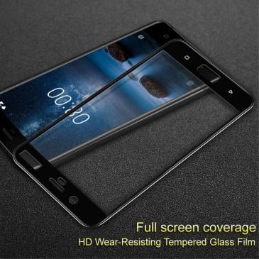 Nokia 8 Täysin Peittävä Suojalasi Imak Musta