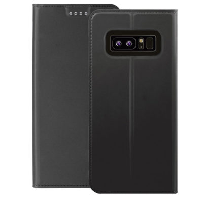 Samsung Galaxy Note 8 Kotelo Tummanharmaa