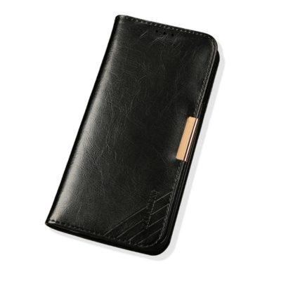 Samsung Galaxy Note 8 Nahkakotelo KLD Musta