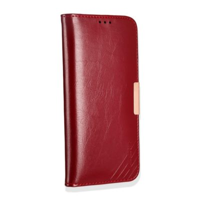 Samsung Galaxy Note 8 Nahkakotelo KLD Punainen