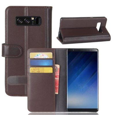 Samsung Galaxy Note 8 Nahkakotelo Ruskea