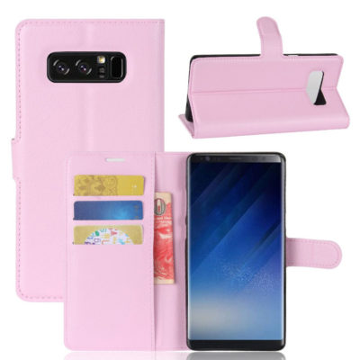 Samsung Galaxy Note 8 Suojakotelo Vaaleanpunainen
