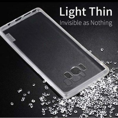 Samsung Galaxy Note 8 Suojakuori X-Level Läpinäkyvä