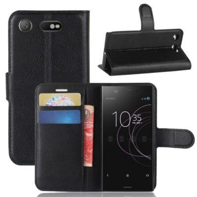 Sony Xperia XZ1 Compact Suojakotelo Musta