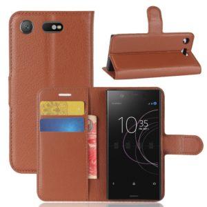 Sony Xperia XZ1 Compact Suojakotelo Ruskea