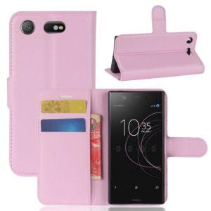 Sony Xperia XZ1 Compact Suojakotelo Vaaleanpunainen