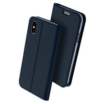 Apple iPhone X Kotelo Dux Ducis Tummansininen
