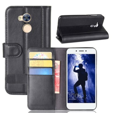 Huawei Honor 6A Nahkakotelo Musta