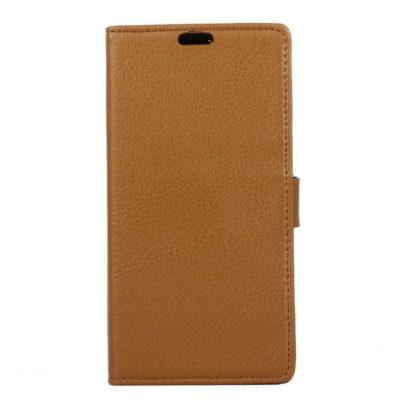 LG G6 H870 Suojakotelo Ruskea Lompakko