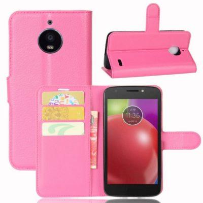 Motorola Moto E 4th Gen Suojakotelo Pinkki