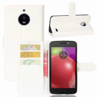 Motorola Moto E 4th Gen Suojakotelo Valkoinen