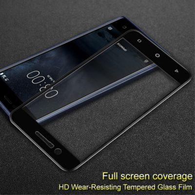 Nokia 3 Täysin Peittävä Suojalasi IMAK Musta