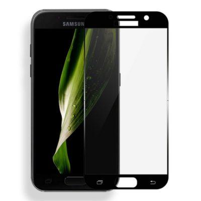 Samsung Galaxy A3 (2017) Suojalasi Mocolo Musta