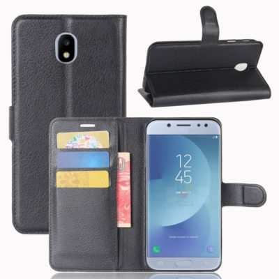 Samsung Galaxy J3 (2017) Lompakkokotelo Musta