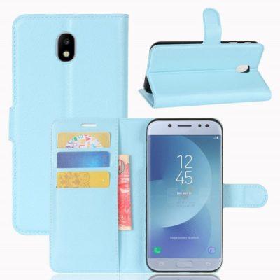 Samsung Galaxy J3 (2017) Lompakkokotelo Vaaleansininen