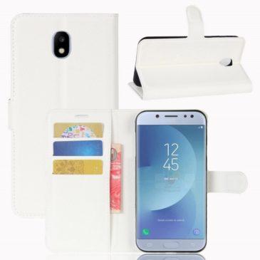Samsung Galaxy J3 (2017) Lompakkokotelo Valkoinen