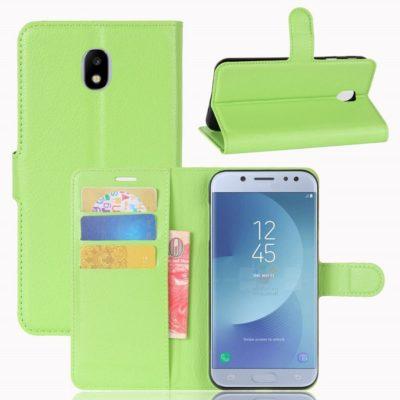 Samsung Galaxy J3 (2017) Lompakkokotelo Vihreä