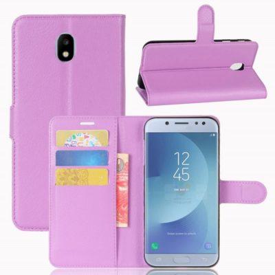 Samsung Galaxy J3 (2017) Lompakkokotelo Violetti