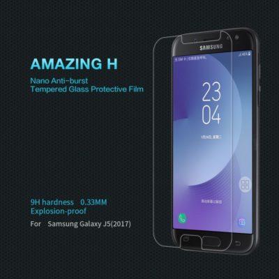 Samsung Galaxy J5 (2017) Lasinen Näytönsuoja Nillkin