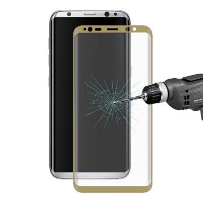Samsung Galaxy S8+ Kaareutuva Suojalasi Kulta
