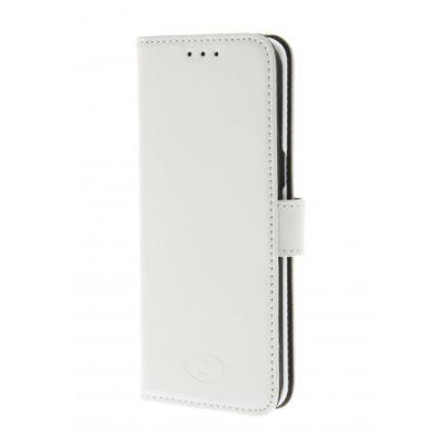Samsung Galaxy S8+ Nahkakotelo Insmat Valkoinen