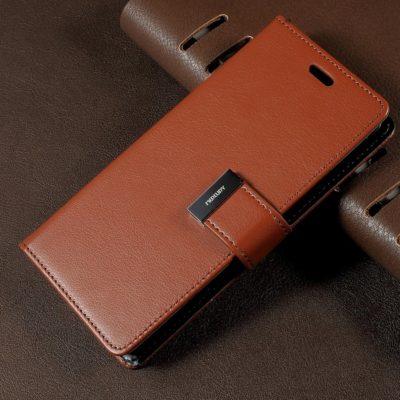 Samsung Galaxy S8 Ruskea Rich Diary Lompakkokotelo