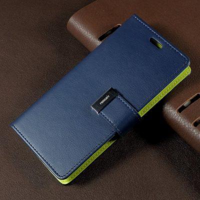 Samsung Galaxy S8 Sininen Rich Diary Lompakkokotelo